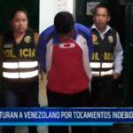 Capturan a venezolano por tocamientos indebidos a escolares
