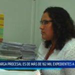 La Libertad: Carga procesal es de más de 162 mil expedientes a la fecha