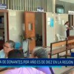 Cifra de donantes por año es de diez en la región La Libertad