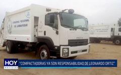 """Chiclayo: """"Compactadoras ya son responsabilidad de Leonardo Ortiz"""""""