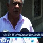 """Chimbote: """"Se está estafando a los más pobres"""""""