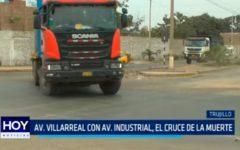 Av. Villarreal con Av. Industrial, el cruce de la muerte