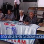 Chiclayo: Dirigentes de EPSEL cuestionan labor de OTTAS