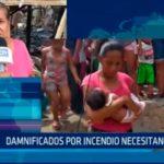Iquitos: Danmificados por incendio necesitan ayuda
