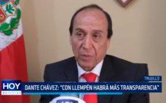 """Dante Chávez: """"Con Llempén habrá más transparencia"""""""