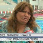 Delegaciones llegan el 25 Perú y Brasil serian las primeras