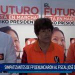 La Libertad: Simpatizantes de FP denunciaron al Fiscal José Domingo Pérez