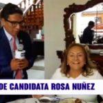 Desayuno de candidata Rosa Nuñez