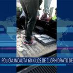 Chiclayo: Policía incauta 60 kilos de clorhidrato de cocaína