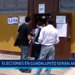 Elecciones en Guadalupito serán anuladas