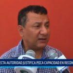 La Libertad: Electa autoridad justifica poca capacidad en reconstrucción