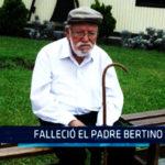 Chimbote: Falleció el Padre Bertino