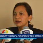Reacciones tras falsa expulsión de Paúl Rodríguez del APRA