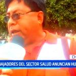 Chiclayo: Trabajadores del sector salud anuncian huelga