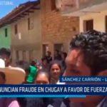 La Libertad: Denuncian fraude en Chugay a favor de Fuerza Popular