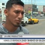 Gordillo destaca el buen momento en Vallejo