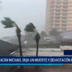 USA: Huracán Michael deja un muerto y devastación en Florida