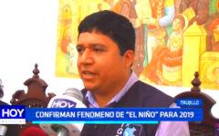 """Confirman fenómeno de """"El Niño"""" para el 2019"""