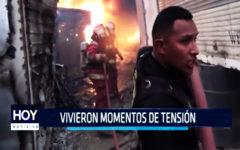 Chimbote:Vivieron momentos de tensión