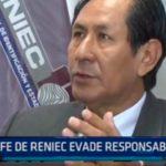 La Libertad: Jefe de Reniec evade responsabilidad