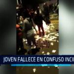 Chimbote: Joven fallece en confuso incidente