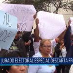 Chiclayo: Jurado Electoral Especial descarta fraude