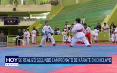 Chiclayo: Se realizó segundo campeonato de karate en Chiclayo
