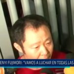 "Kenyi Fujimori: ""Vamos a luchar en todas las instancias"""