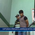Chiclayo: Capturan a presunto ladrón de motos lineales