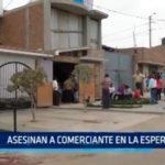 Asesinan a comerciante en La Esperanza