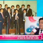La trayectoria musical de Lucho Paz la voz de oro del Perú