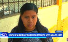 Hospital Regional: Joven denuncia que no recibió atención adecuada