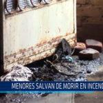 Chiclayo: Menores salvan de morir en incendio