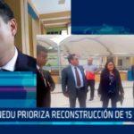Chiclayo: MINEDU prioriza recostrucción de 15 colegios