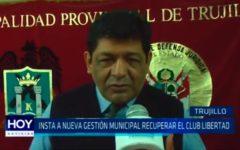 Nueva gestión municipal debe recuperar predio del Club Libertad