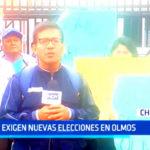 Chiclayo: Exigen nuevas elecciones en Olmos