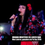 Oriana Montero en Larco Bar