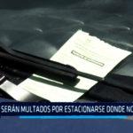 Chimbote: Serán multados por estacionarse donde no deben