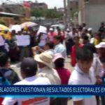 Libertad: Pobladores cuestionan resultados electorales en Calamarca