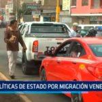 Políticas de estado por migración venezolana