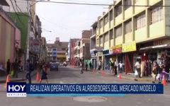Chiclayo: Realizan operativos en mercado Modelo