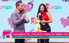 """Lanzamiento del concurso """"La reina del barrio 2018"""""""
