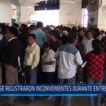 Chiclayo: Se registraron inconvenientes durante entrega de DNI