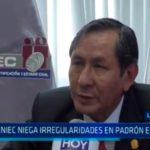 La Libertad: RENIEC niega irregularidades en padrón electoral