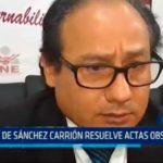 La Libertad: JEE Sánchez Carrión resuelve actas observadas