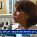 Rocío Taboada sobre presunto fraude en Víctor Larco