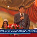 Roger Quispe minimiza denuncia de presunto fraude