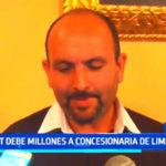 """Trujillo: """"Dejan 'bomba de tiempo' con deuda del SEGAT"""