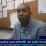 Piura: Segundo caso de sarampión en la región