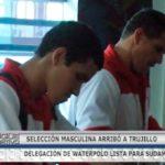 Delegación de Waterpolo lista para Sudamericano